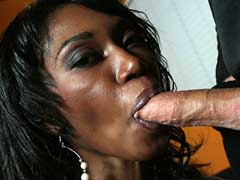 Curvey ebony Delotta bounces her huge ass on a big cock. Delotta Brown