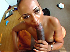 Slutty MILF black ass teacher gets fucked. Mya
