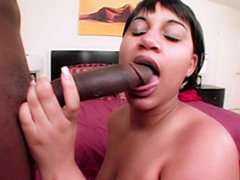 Horny black slut with a huge booty. Asian Redd