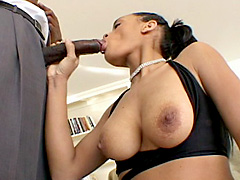 Busty and leggy black babe fucking and sucking. Adicktion