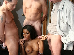 Hot Black Girl Facial Bukkake From Redneck Gang. Candice Nicole