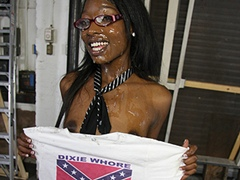 Black Teen Gangbanged By White Rednecks Cumbang. Taylor Starr