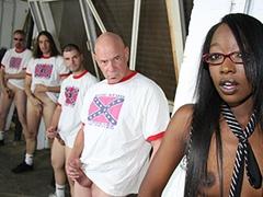 Black Teen Gangbanged By White Rednecks Cumbang. Taylor Starr
