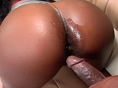 24 inch black snake screwing wet ebony pussy for cum