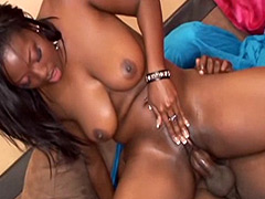 24 inch african cock wild fucked sexy busty ebony whore