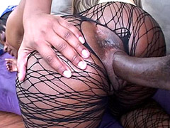 Huge black african dick drill sexy ebony babe and cum facial