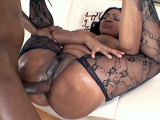 Latina tranny has surprise