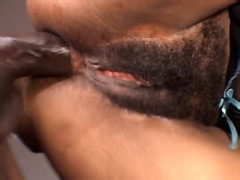 Huge black african dick drill asshole ebony babe and cum facial
