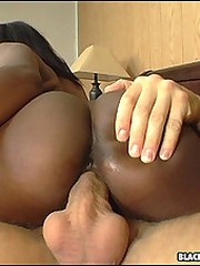 Two black beauties take it deep