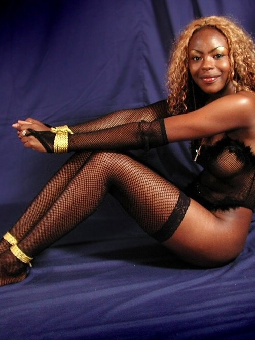 In ans bondage stockings housewives