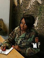 Army black pornstar