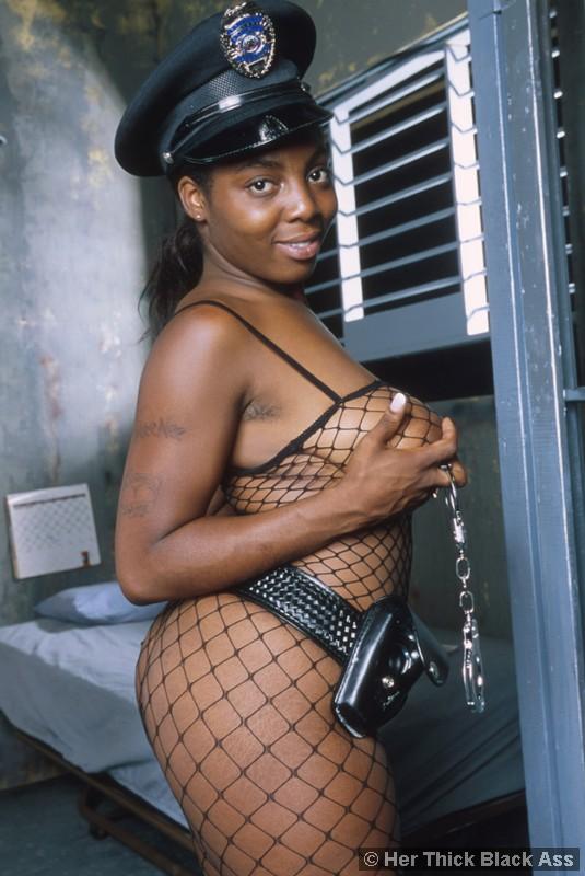 Porn jail girl Black in
