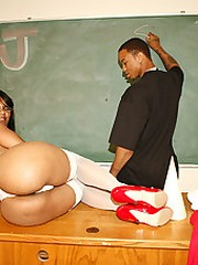 cock starved teacher fucks huge black..