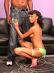 Ebony Beauty Punished Internally