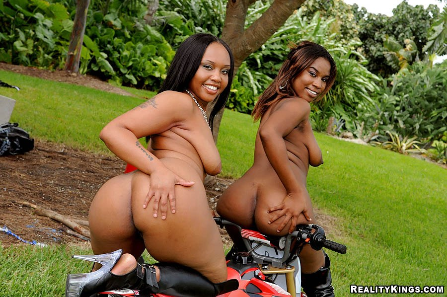 Dirtbike with girls nude think