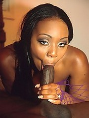 Horny black slut has her perfect thick..