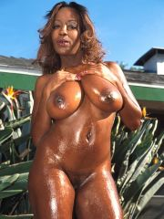 Hot black girls oiled up remarkable, very