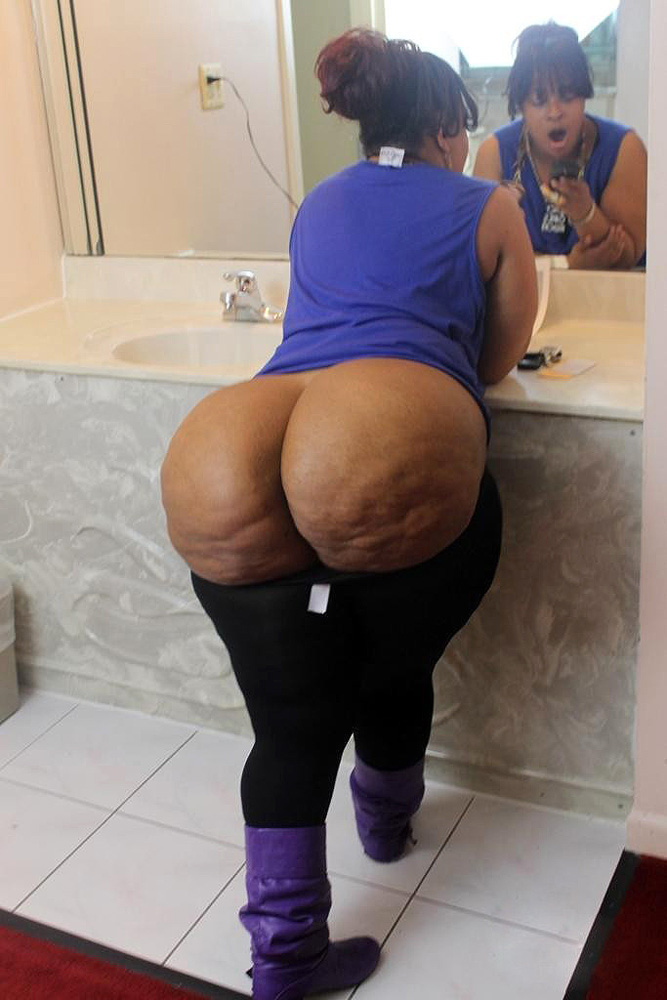 Big booty mature black