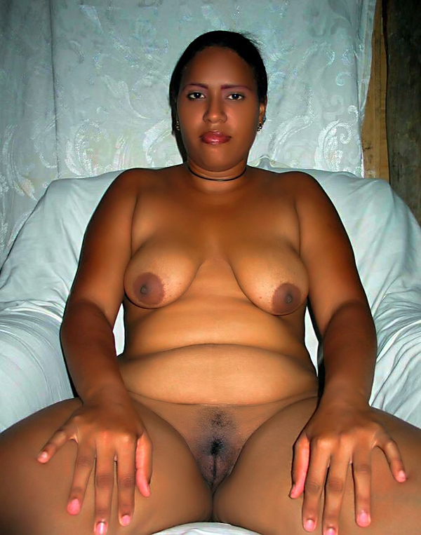 Ebony bbw gets oiled up goddess