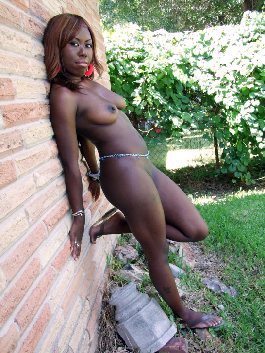 That black women naked outdoors splendid!! Lucky
