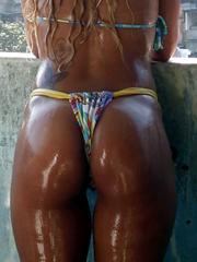Camwhoring sexy nubian babe