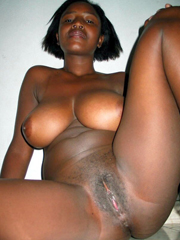 Dark skinned be stained in cum