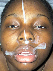 Afro girl gets facial. Best amateur pictures