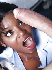 Negro MILF in nurse unalterable Jasmine Webb gets fucked away from a monstrous load of shit