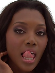 Hot ebony MILF Nyomi Banxxx showcasing her ravishing curves