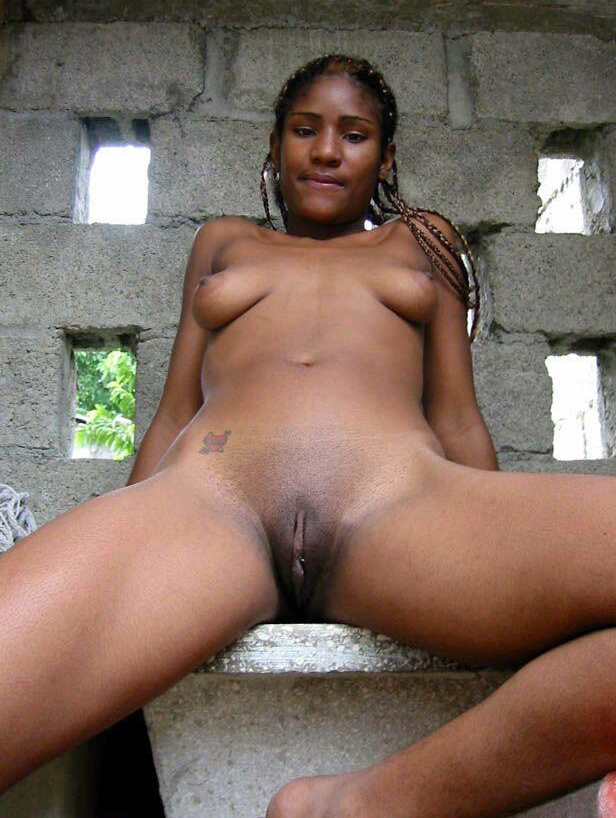The naked black girls portia