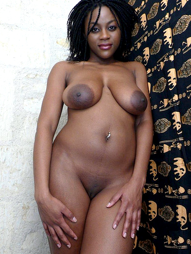 Large Photo  Busty Black Sluts Hungry For Cocks
