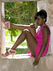 Amazing, non nude ebony girls from social networks