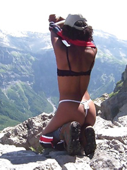 Outdoor, private sex photos of real black..