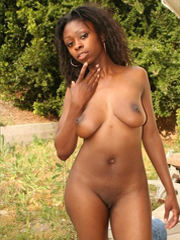 Busty young ebony GF's so sexy