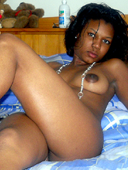 Private, erotic pics of young ebony and black sluts before and after sex