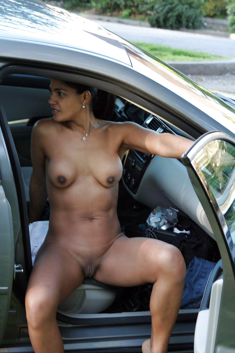 Have thought Naked girls on cab hood shame!