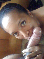 Cute faced and packed like fuck, ebony slut is cuddly and really horny.