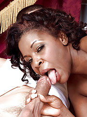 Ebony bbw mature Shawna Winters gets the brush pussy roundish with lasting lacklustre flesh
