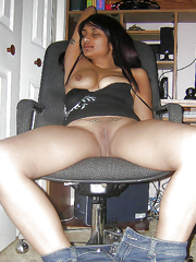 Black girlfriend sucks very big black..
