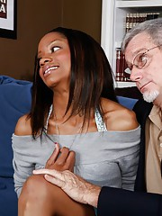 Black college gender with respect to Riyanna Skie and nasty old grandpa