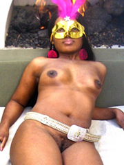 Most assuredly horny black babes posted private photos