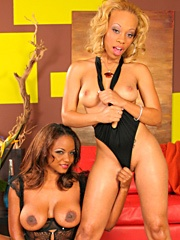 Melrose Foxxx and Sinnamon Love got the..