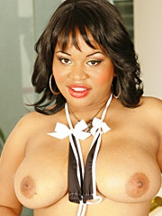 Kandi Kream chose her porn name well because she's got a real taste for a man's thick ball batter. She loves it when a guy cums in her mouth but what she really craves is the hot explosion of warmth inside her pussy when a guy gives her a creampie fillin