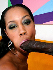 Juicy black pussy fucked by black meat..