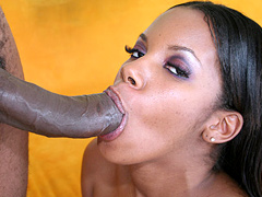 Strokahontas gets her wet and tight snatch drilled hard. Strokahontas