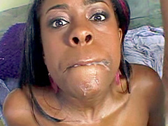 Ashley is a gorgeous ebony babe with a big ghetto booty and luscious lips. She show her round and..