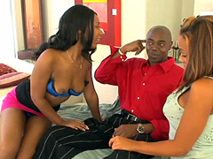 Do you like cocksucking black whores? Good, Cassidy Clay and her ghetto girl-friend! .. It's their place to serve their master and meet his needs. Right now his needs are carnal and they are to please him. Of course they will need training to ensure that