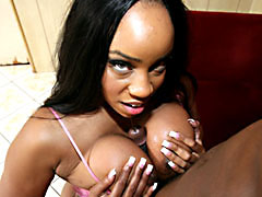 A gorgeous ebony slut rocking a cock like a pro. Tyler Knight, Sandi Jackman