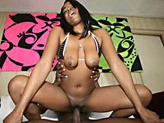 Big eyed black MILF with huge nipples getting fucked. Jon Jon, Royalty