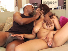 Watch a perfect busty pornstar London Reigns in this ebony porn clip. This dude has got a massive..